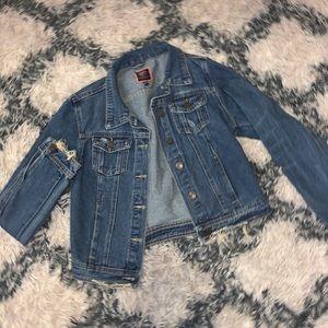 Boom boom jeans denim jacket small